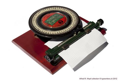 Simplex Typewriter 2