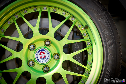 Monster/Falken/Ford Mustang Wheel and Brake Detail