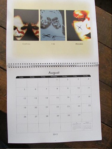 calender facepaint by The People In My Head