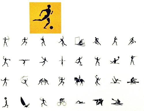 Pictograms from Atlanta Summer Olympic Games
