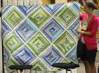 Columbus Modern Quilt Guild - Cristin's NQA Quilt
