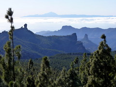 Gran Canaria - Pozo de las Nieves, Mount Teide, Roque Nublo and Roque Bentayga in the Spring
