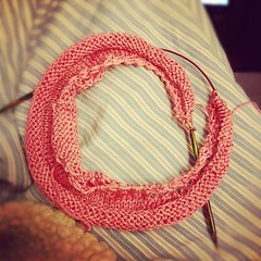 Day 1 #ravellenicgames progress.  #knit #knitting