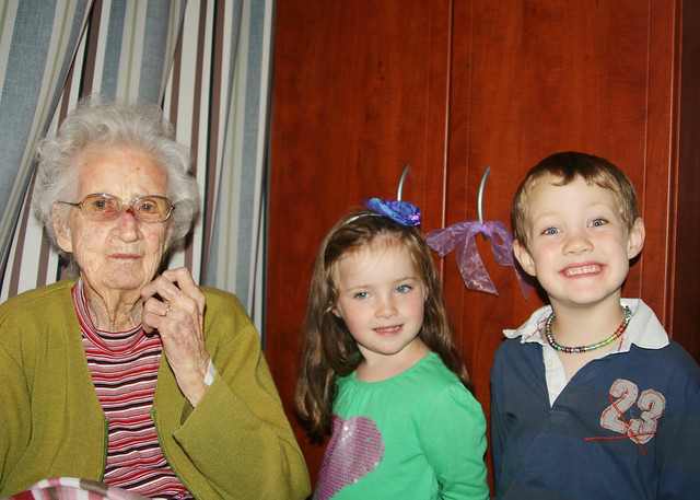 Nana chris, Coel and Immy may 2011
