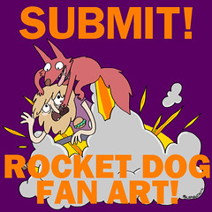 Submit! Rocket dog Fan Art