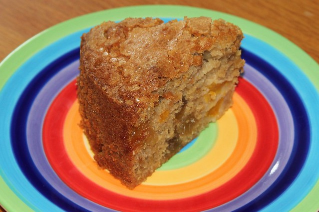 Peach & Ginger cake