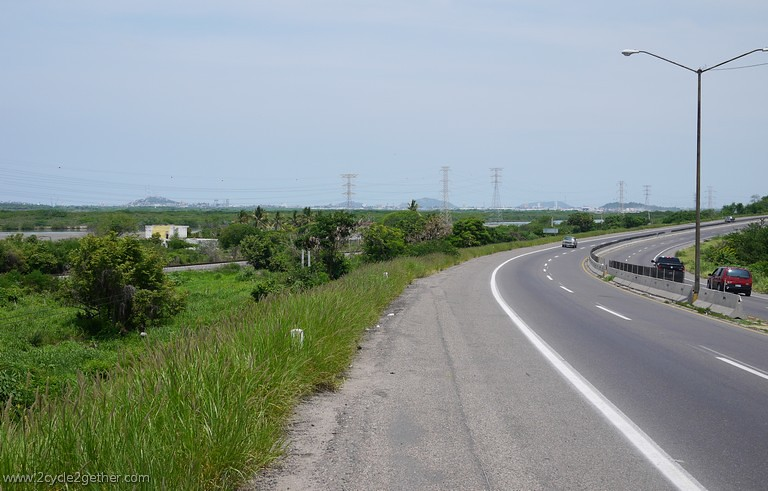 Highway 15 out of Mazatlan