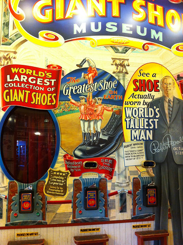 Pike Place Market - Giant Shoe Museum