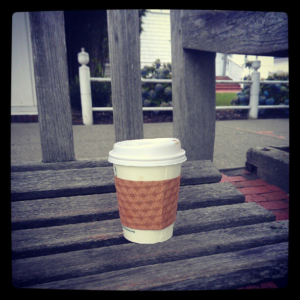 A cuppa joe at hamptons