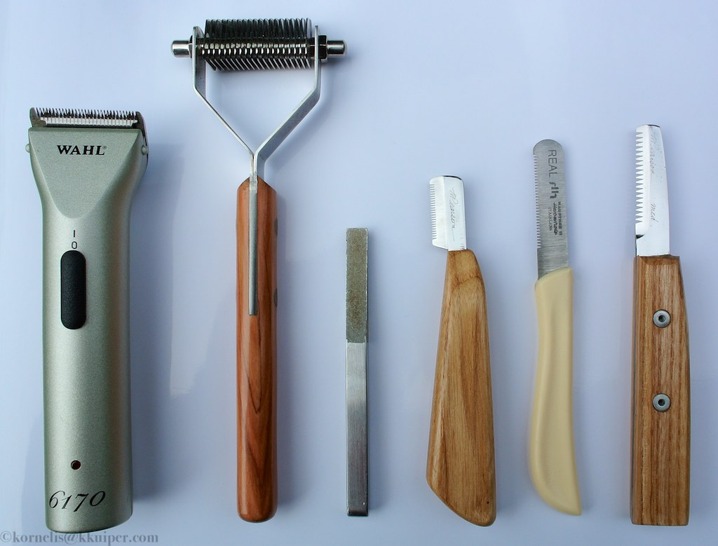 Tools I use on flats-day