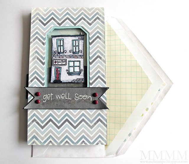 Purple Onion Designs get well card