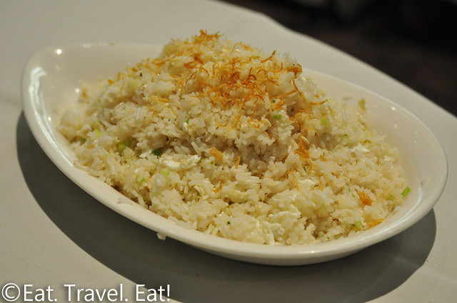 Lunasia Chinese Cuisine- Alhambra, CA: Fried Rice w/ Dried Scallop Egg White