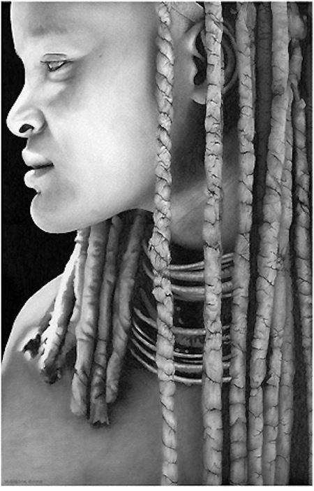 Himba Hair by Michael C Gibson