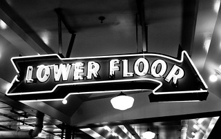 Lower Floor (B&W)
