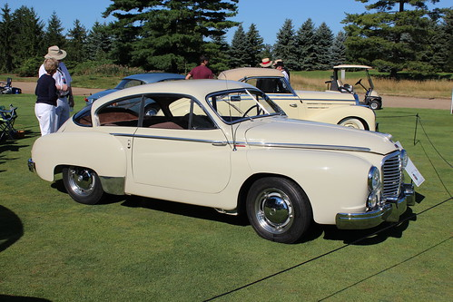 1953 Hotchkiss Gregoire coupe by Chapron