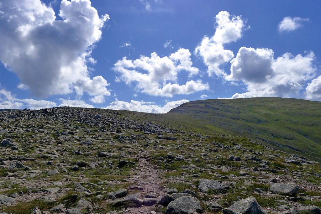 Sron na Lairig Ridge