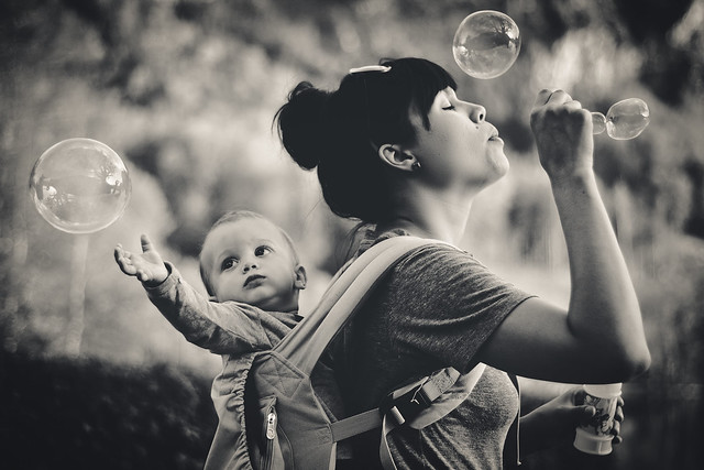 Bubbles - The Decisive Moment in Photography