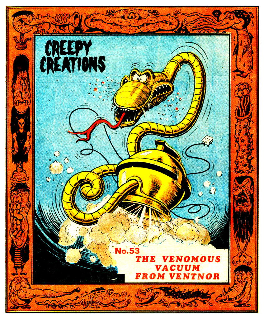 Creepy Creations No.53 - The Venomous Vacuum From Ventnor