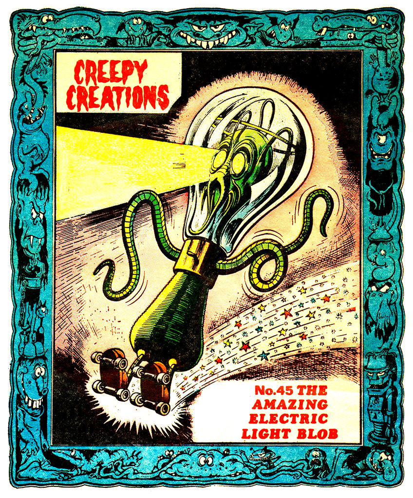 Creepy Creations No.45 - The Amazing Electric Light Blob