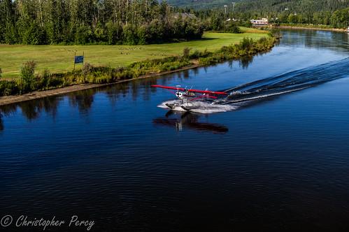 sea alaska plane river seaplane fairbanks chenariver vintageplane