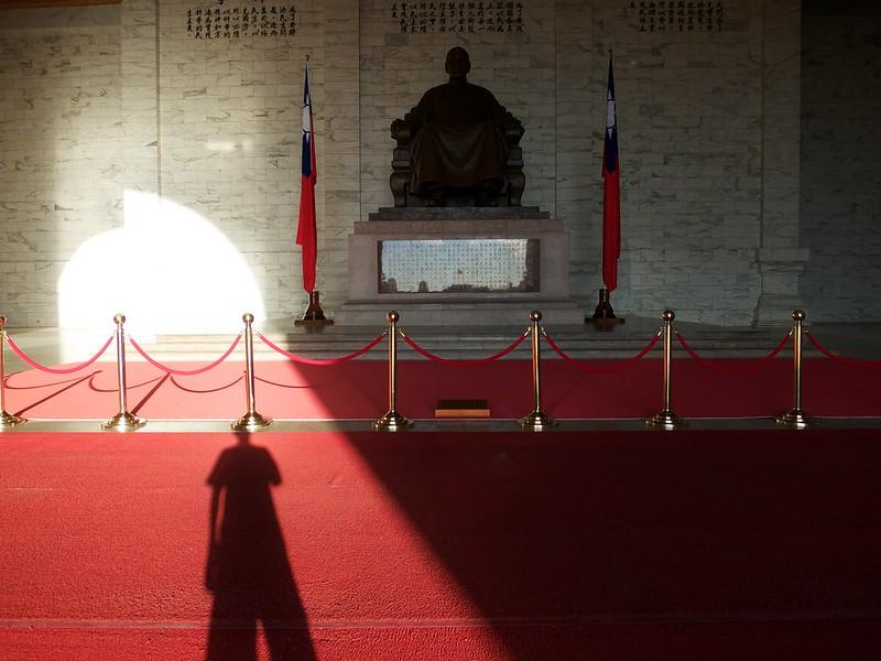 2012 台湾旅行 蒋介石像
