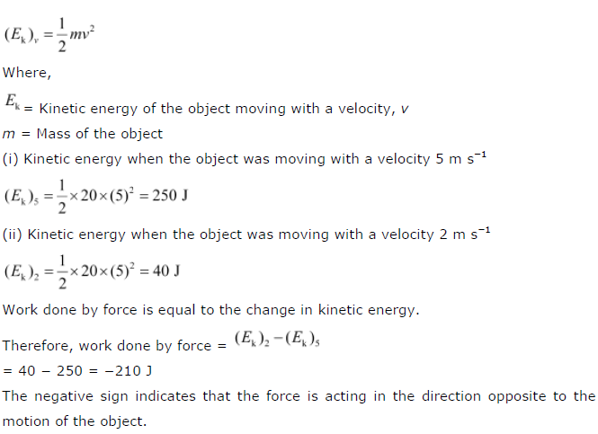 Ncert Solutions For Class 9 Science Chapter 11 Energy And Work