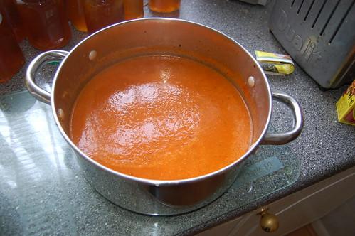 tomato soup Aug 12