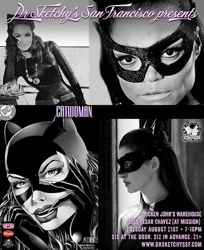 We draw Catwoman tonight
