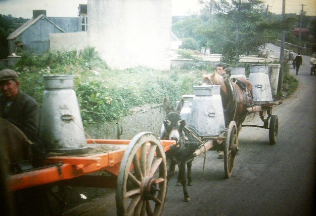 Milk Delivery Ireland 1965