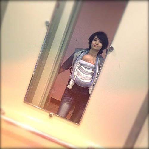Привет, мы сделали оригинальное фото в лифте!