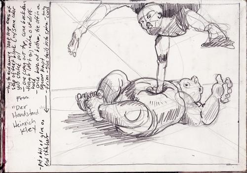 Sketchbook: 22 September 2009 Tuesday - 21 January 2010 Thursday