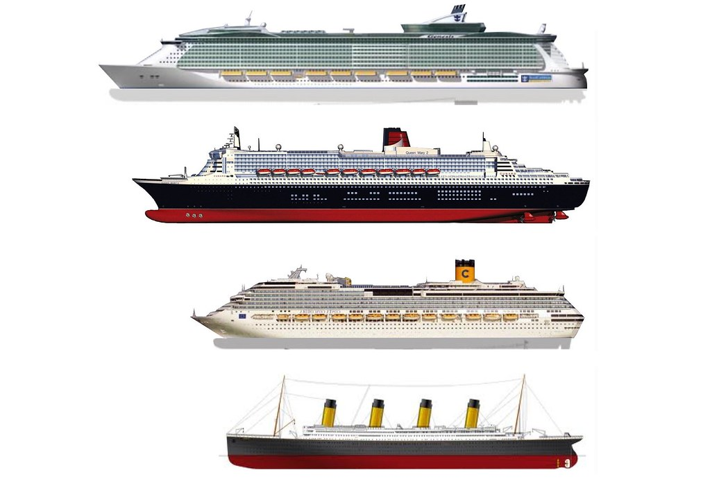 Oasis of the seas queen mary ii costa concordia and for Garderobe queen mary 2