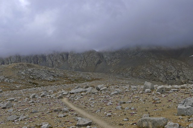 Looking toward Forester Pass in the Storm