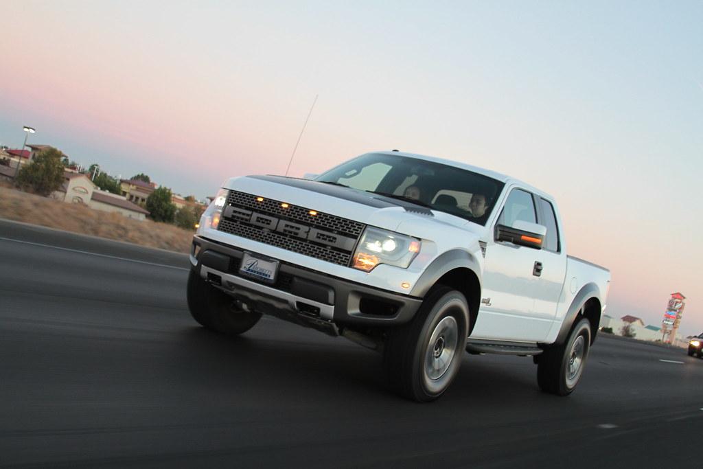 2013 Ford Raptor White