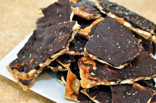 Smoked Salt Pretzel And Potato Chip Chocolate Bark Recipes ...