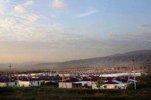 Tserovani campo profughi Georgia
