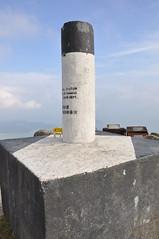 鳳凰山頂的三角測量站