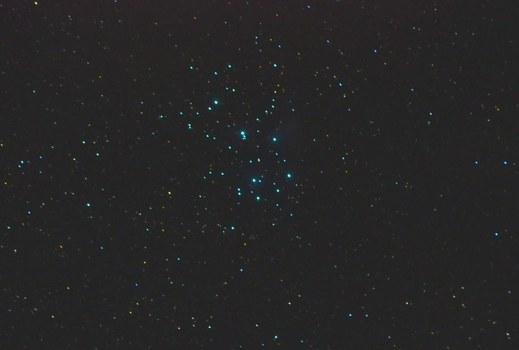 Pleiades 3 seconds