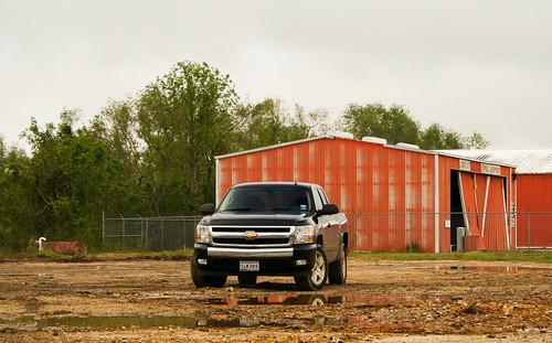 black truck silverado