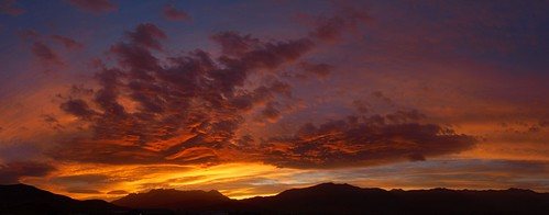 Sunset Pano 11-08-12
