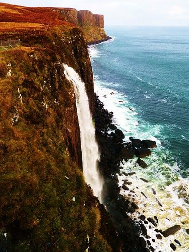 Kilt Rock and Waterfall, Trotternish