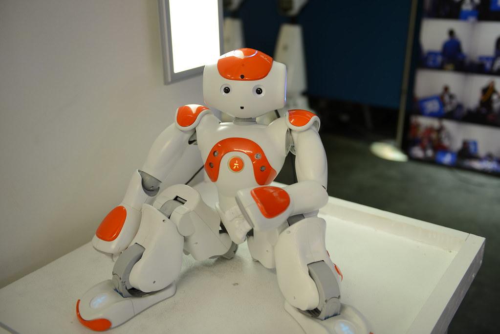 NAO Greeter Robot