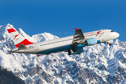 Austrian Airlines (Tyrolean Airways) | Airbus A320-214 | OE-LBQ | Innsbruck | LOWI | INN | March9,2014