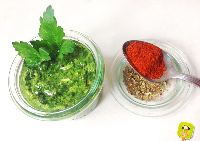 provenzal chimichurri sauce with paprika - recipe
