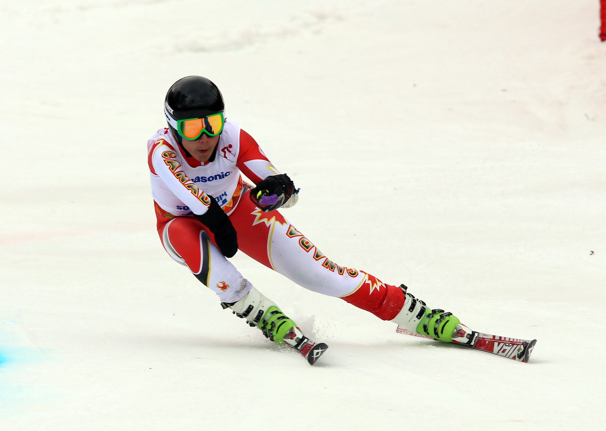 Kirk Schornstein competes in the giant slalom at the 2014 Paralympic Winter Games in Sochi, RUS