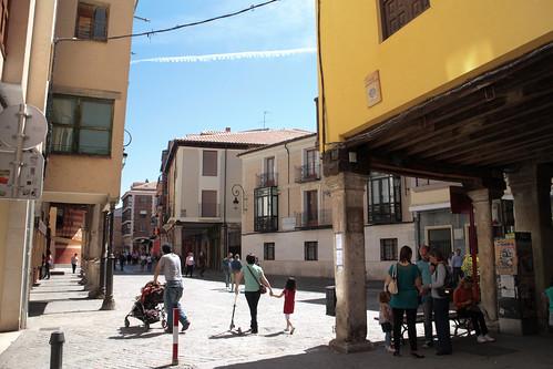 Plaza del Trigo, Aranda de Duero