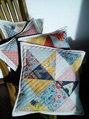 Pillows. Tutorial by Maureen Cracknell.
