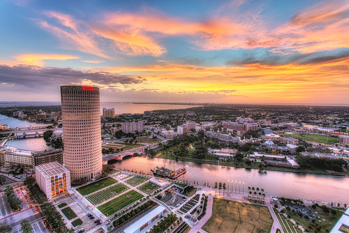 sunset tampa florida beercan nik hdr hillsboroughriver universityoftampa firstbaptistchurch photomatix kileypark curtishixonpark rivergatebuilding