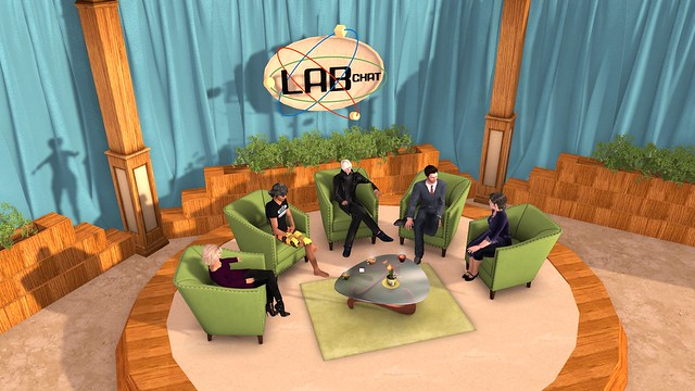 LAB CHAT - SAFFIA WIDDERSHINS / TROY LINDEN / OZ LINDEN / EBBE LINDEN / JO YARDLEY