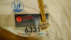 La Course Eiffage du viaduc de Millau BIB & medal, 20160522